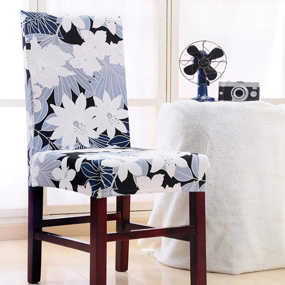 Laideyilan Anti-Dirty Conjointed Elasticity Printing Seat Cover for Home, Office, Restaurant