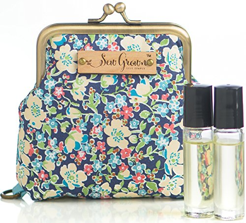 Sew Grown Essential Oils Carrying Cases (Small Francine)