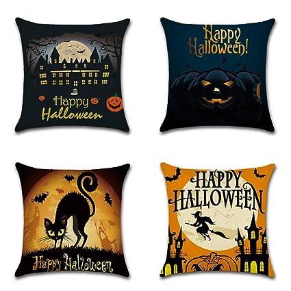 NAID 4 Piezas Decoración de Halloween Castillo de Brujas ...