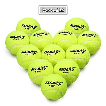 quality design 89fe1 aee38 Lixada Drucklos Tennisball Packung 6 mit Netztasche Gummi ...