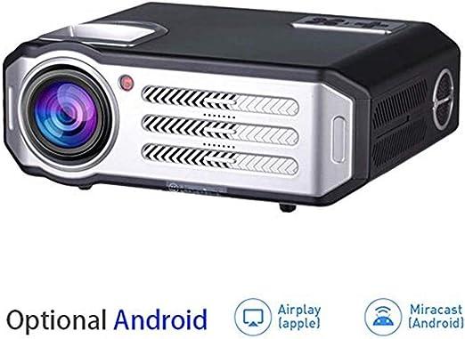 Mini proyectores Proyector HD LED, Bluetooth WIFI 3500 lúmenes ...