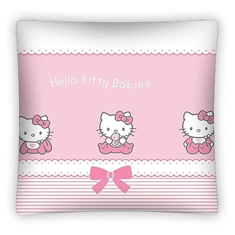 Hello Kitty almohada Tamaño: Aprox. 40 x 40 cm Funda de ...