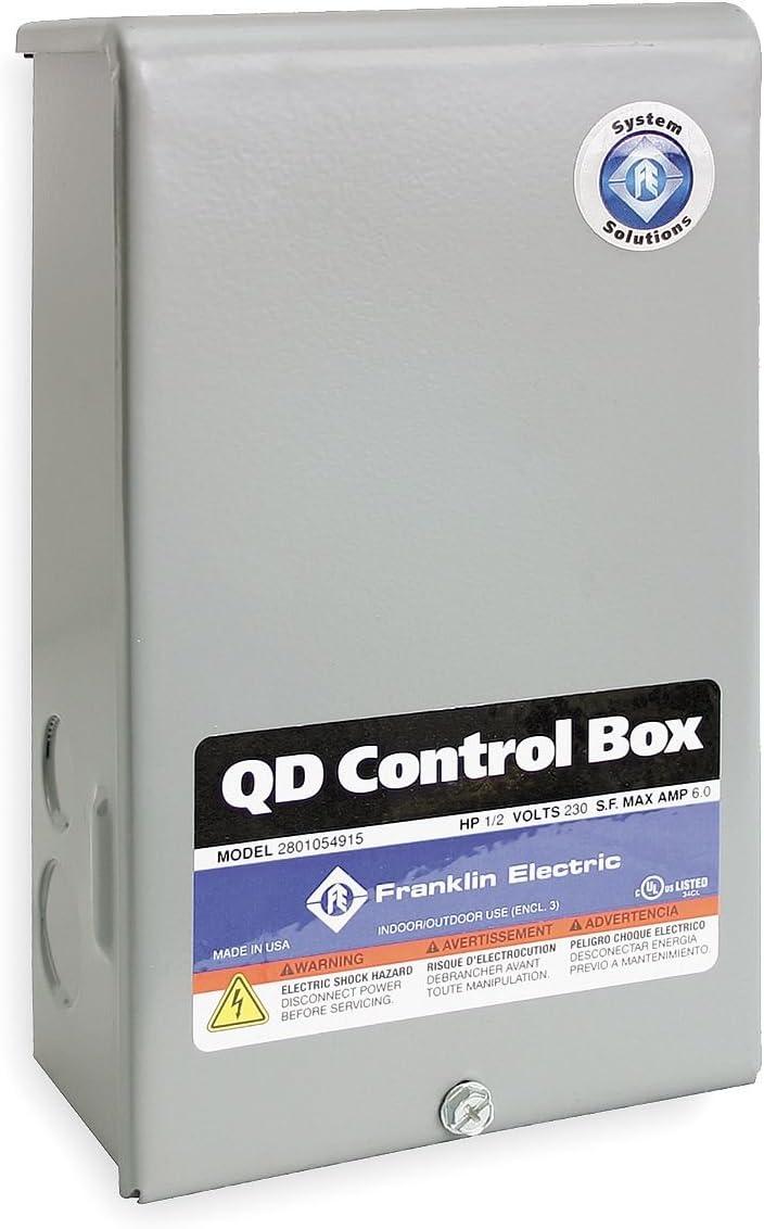 Control Box, 1/2HP, 230V, 1Phase