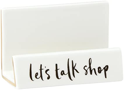 kate spade new york daisy place desktop business card holder - Kate Spade Business Card Holder