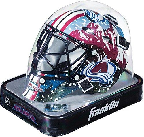 Colorado Avalanche Unsigned Franklin Sports Replica Mini Goalie Mask - Fanatics Authentic Certified - Unsigned Mask ()
