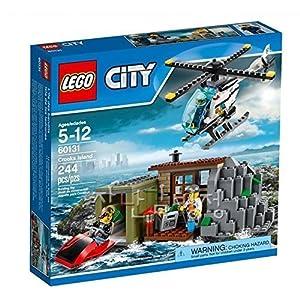 City LEGO 244 PCS Crooks Island Set Brick Box Building Toys - 6141h5eUCpL - City LEGO 244 PCS Crooks Island Set Brick Box Building Toys