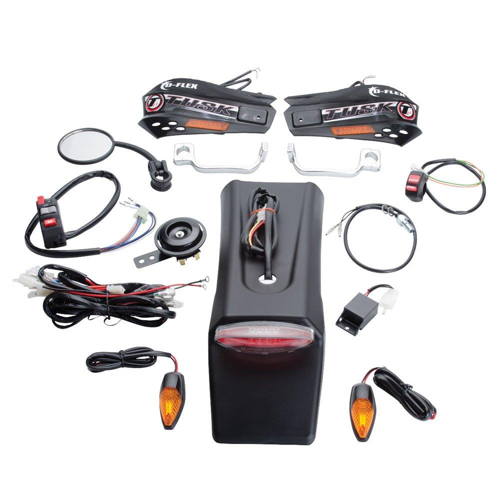 KTM 400 EXC 4 Stroke 2000-2007 Tusk Motorcycle Enduro Lighting Kit with Handguard Turn Signals Fits