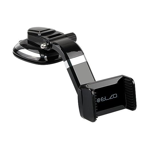 4 opinioni per Elzo Supporto Cellulare per Auto con Ventosa, Universale Supporti Auto Rotazione
