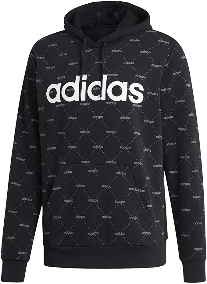 Adidas Originals X by O Pullover Hoody Black Mens Clothing