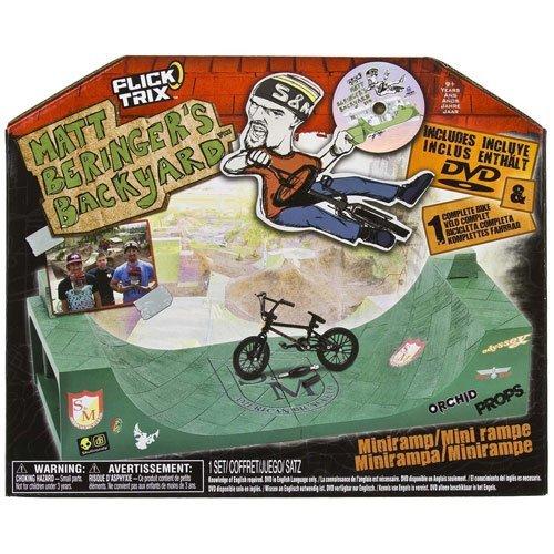 Flick Trix Matt Beringer's Backyard Miniramp with Bonus DVD by Flick Trix (Image #1)