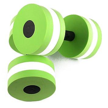 zerlar EVA espuma Aqua mancuernas pesas de agua para piscina ejercicios resistencia formación para el trabajo