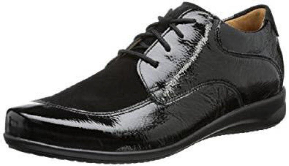 Ganter Fiona - Zapatos de cordones para mujer 5.5|negro