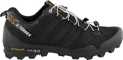 adidas outdoor Men's Terrex X-King Black/Black/chalk White 7 ...