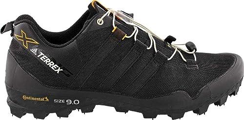 super popular 4637b 3783c adidas outdoor Mens Terrex X-King Shoe (8 - Black Black Chalk