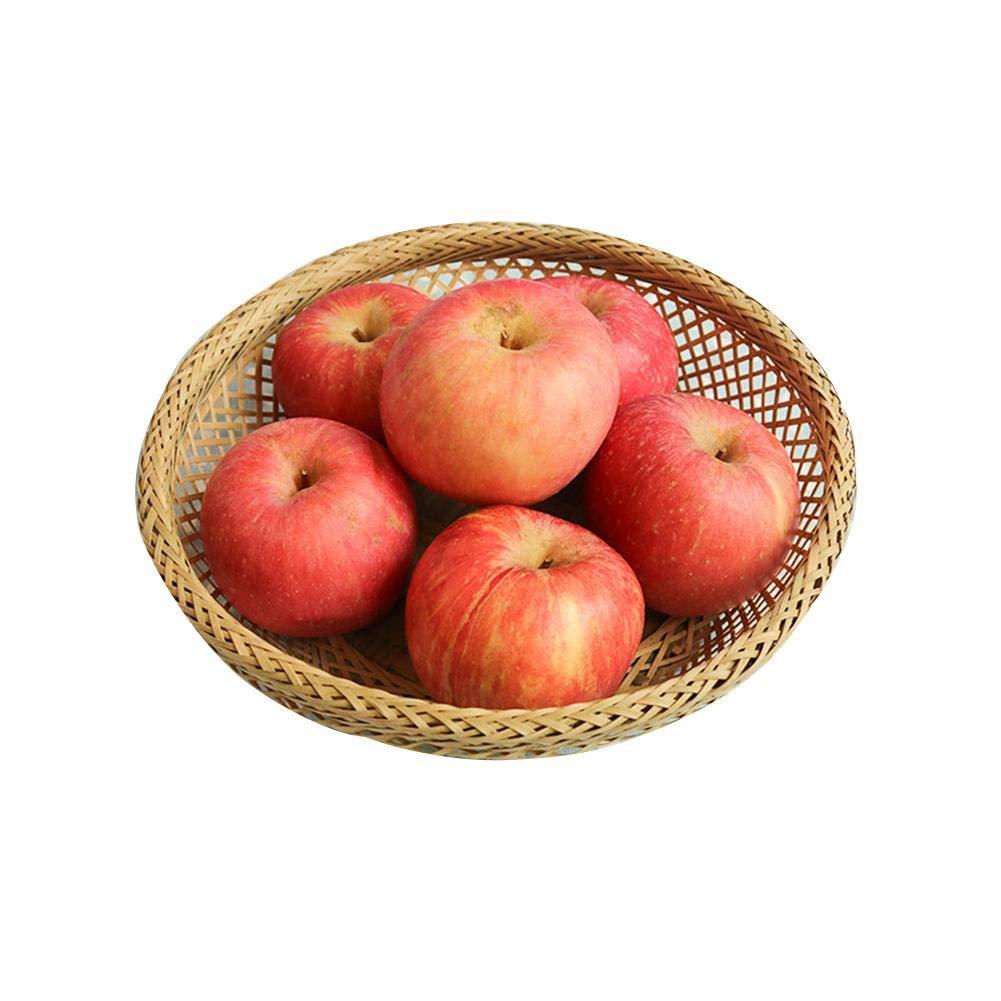 Funihut Panier De Rangement Osier Panier De Fleur Tress/é Pliable Corbeille /À Linge Rond Osier//Corbeille De Fruits//Panier De Rangement Jouet//Panier De Fleurs