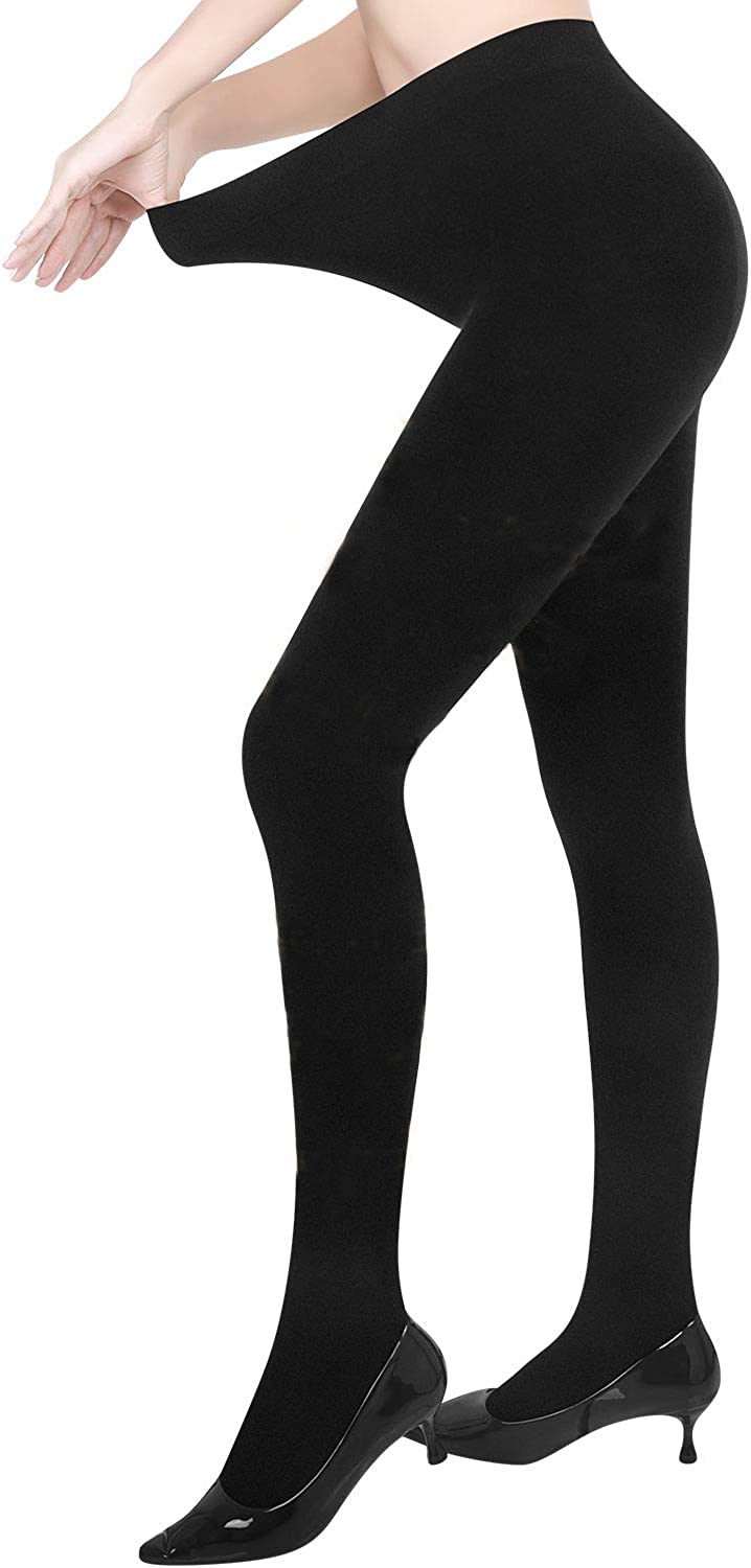 Women Winter Fleece Comfy thermal Plush Warm Thick Pantyhose Stockings Tights