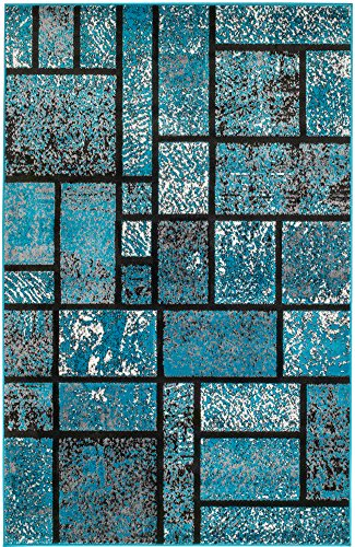 Summit Turquoise Geometric Abstract Available