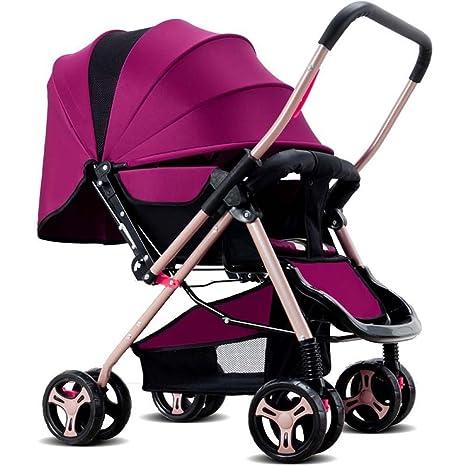 Plegable bebé cochecito rosa Amaranth Pink