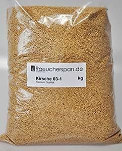 Holztechnik Ferdinand Meise–Serrín para ahumar (cereza Madera de Cerezo grano: 03–1, 1kg