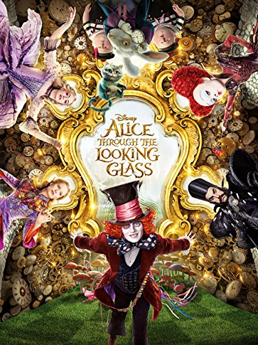 Alice Through the Looking Glass (2016) (Plus Bonus - 2016 Glasses
