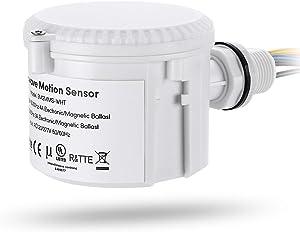 LEONLITE Microwave Motion Sensor Attachment for High Bay Fixture, Max 360° Detection, Adjustable Features, Commercial Grade Sensor