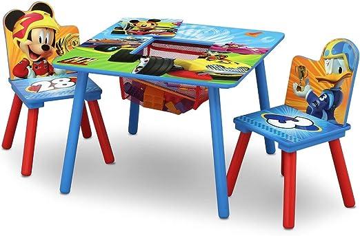 Disney Juego de Mesa y sillas de Almacenamiento: Amazon.es: Juguetes y juegos