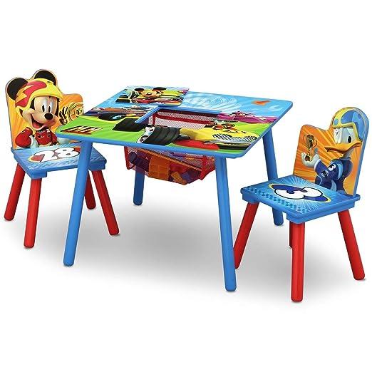 Disney Juego de Mesa y sillas de Almacenamiento: Amazon.es ...