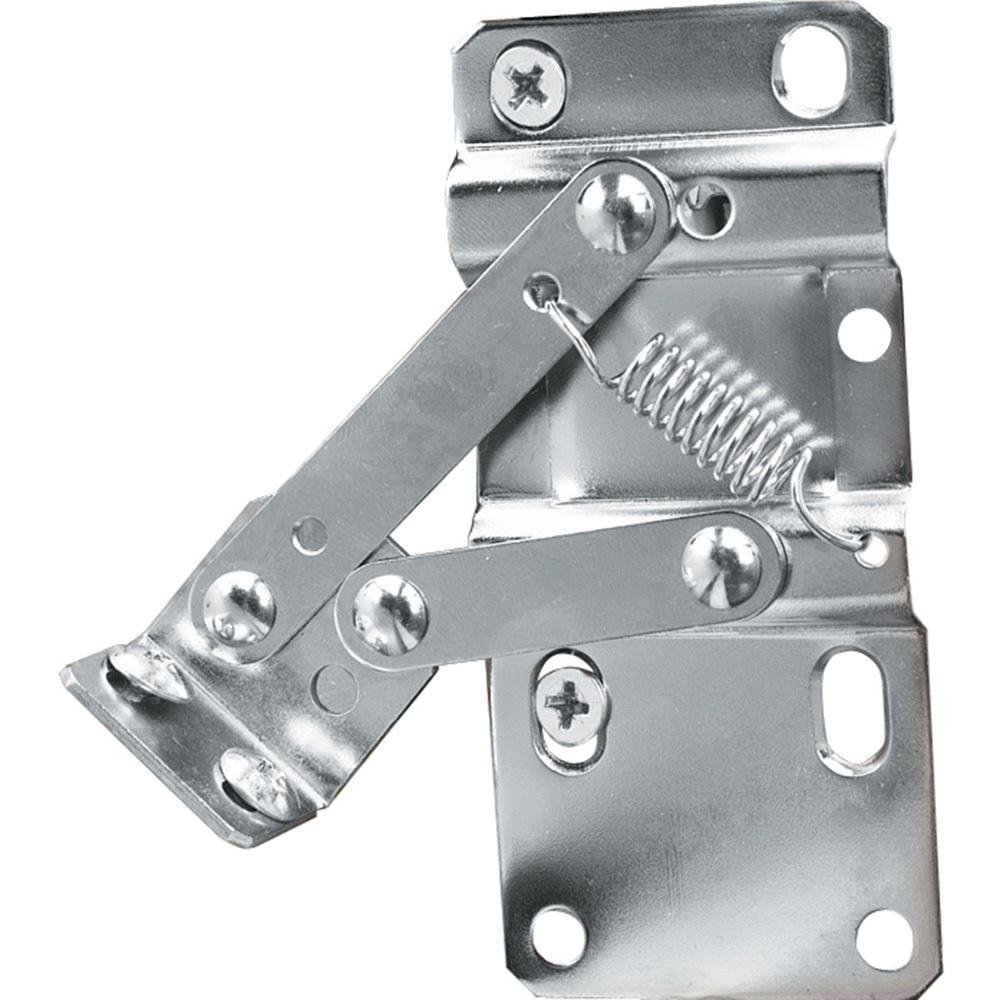 Rev-A-Shelf LD-0220-50SC Pair of Soft-Close Sink-Front Tip-Out Tray Hinges, Zinc FBA_LD-0220-50SC