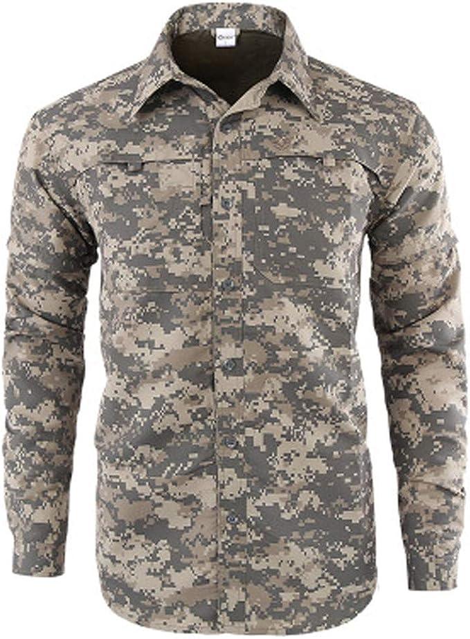 Sylar Camisas De Hombre Manga Larga Otoño Invierno Informal Botón Floral Junior Boys Camiseta Tops Camisas Militar Hombre Casual Camiseta para Hombre Tops para Hombre Blusa para Hombre: Amazon.es: Ropa y accesorios