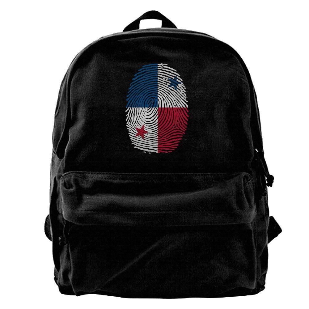 Designame Unisex Canvas Backpack Travel Rucksack Daypack Knapsack Laptop Shoulder Bag