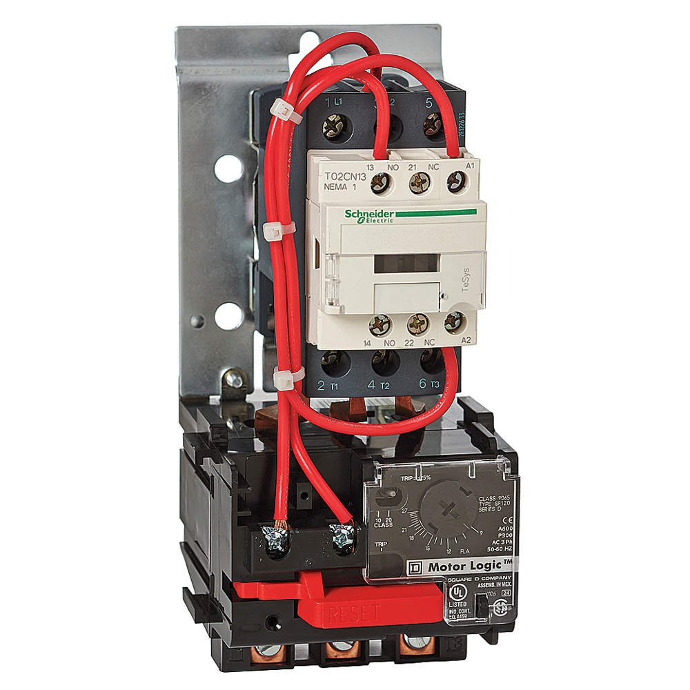 Telemecanique / Schneider Electric - T36CN13LE7 - NEMA Magnetic Motor Starter, 208VAC Coil Volts, Overload Relay Amp Setting: 9 to 27A