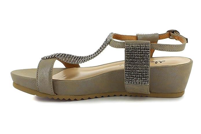 Alma en Pena V16288, Damen V16288 , - PEWTER - Größe: 41: Alma en Pena:  Amazon.de: Schuhe & Handtaschen