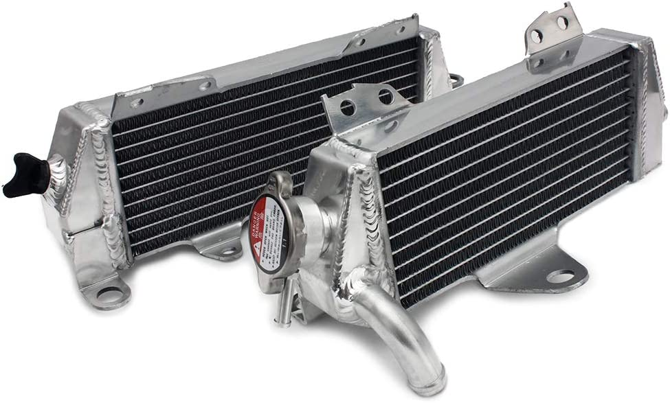 1998-1999 Smadmoto Motorcycle Engine Aluminum Core Water Cooler Radiator Fit for Kawasaki ZX-6R
