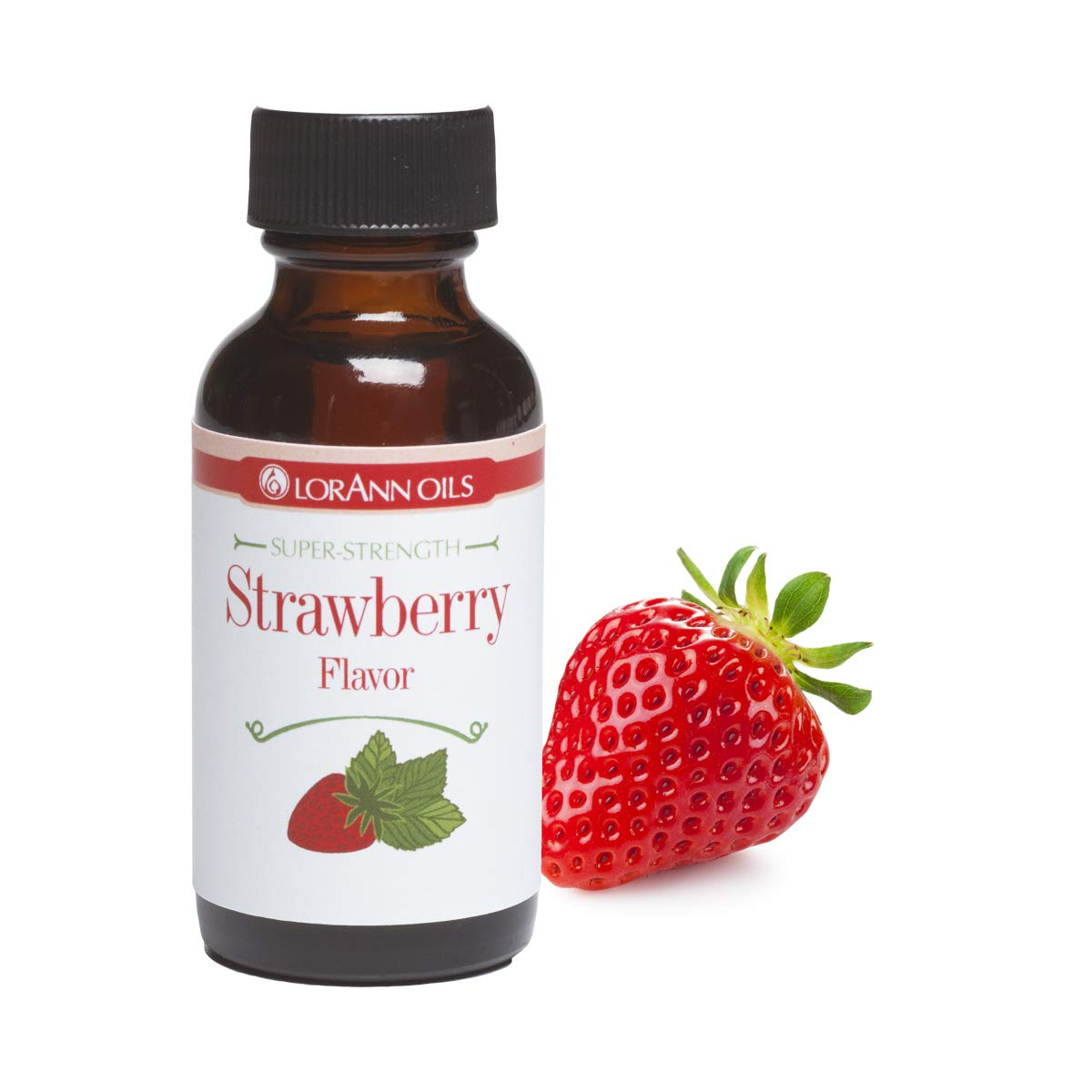 LorAnn Strawberry Super Strength Flavor, 1 ounce bottle