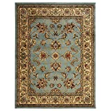 Ottomanson Royal Collection New Traditional Oriental Area Rug, 7'10''W X 9'10''L, Seafoam