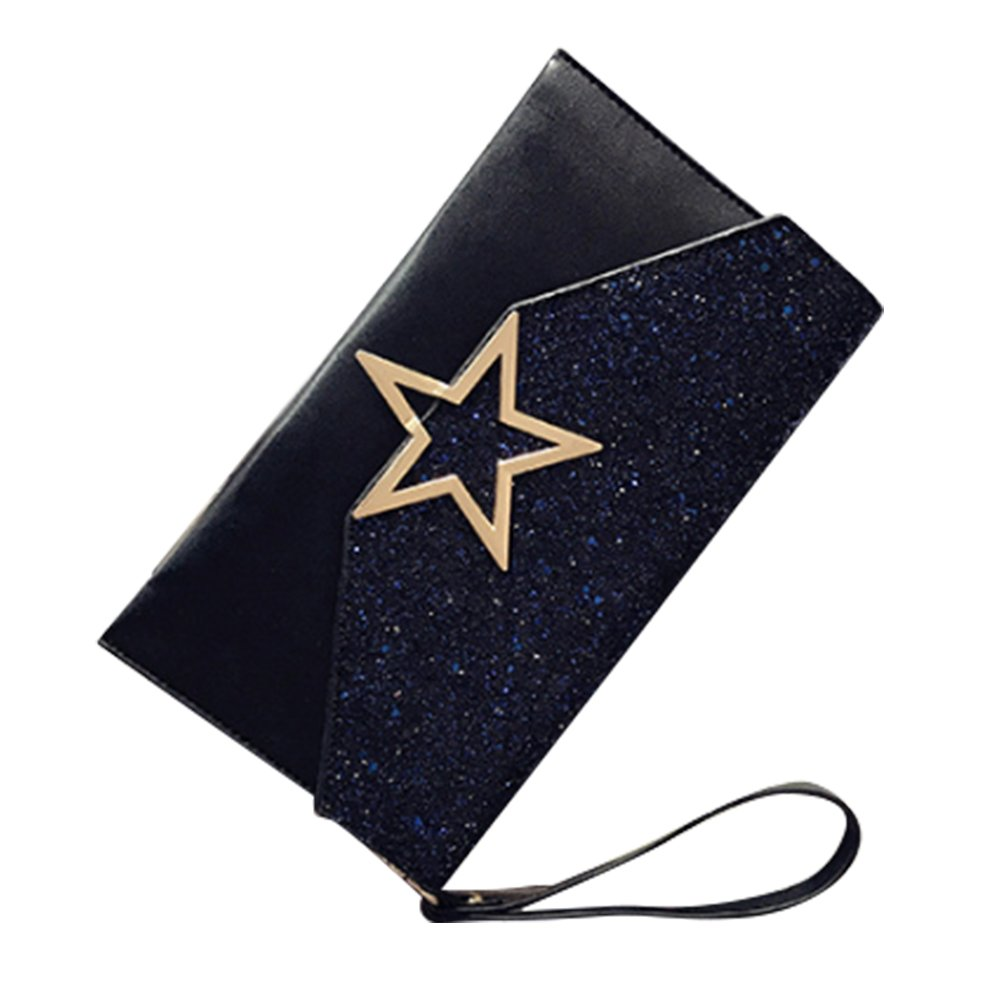 Minofious Evening Bag Clutch Purses for Women Shoulder Bags Envelope Satchel Crossbody Tote for Wedding Party Prom