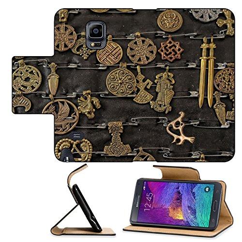 luxlady-premium-samsung-galaxy-note-4-flip-pu-leather-wallet-case-image-id-21781578-medieval-copper-