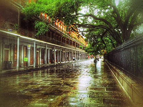 New Orleans Framed Photograph (Mark Pritchard Artworks MPNO09F1216 New Orleans Collection: