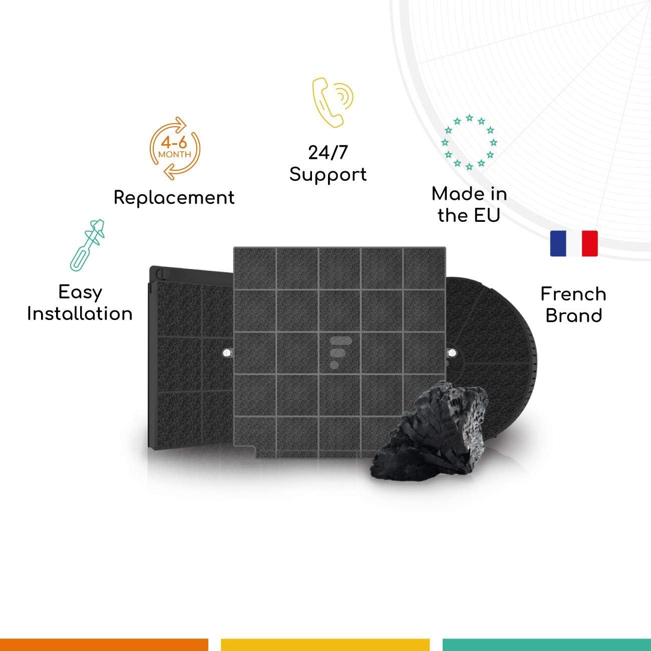 cuk25001 fk00091 Filtre à charbon actif Intérieur Air Filtre BWM 1er 2er 3er 4er O
