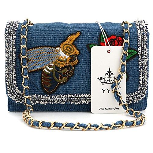 YYW Evening Bag - Cartera de mano para mujer b