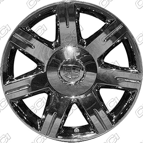 17'' Machined With Silver Refurbished OEM Wheels for 06-08 CADILLAC DTS (Wheel Machined 17')