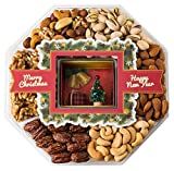 THE FABULOUSLY FESTIVE PACKAGE THAT WILL MAKE YOUR HOLIDAY FEAST EXTRA SPECIAL: The ultimate sweet and salty gourmet gift is guaranteed to make a memorable holiday gift. This substantial gift offers 6 types of hand-selected nuts, in a lovely ...