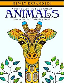 Animals Coloring Book for Adults: Happy Coloring, Amanda Neel ...