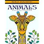 Adult Coloring Books: Animals – Stress Relief Coloring Book