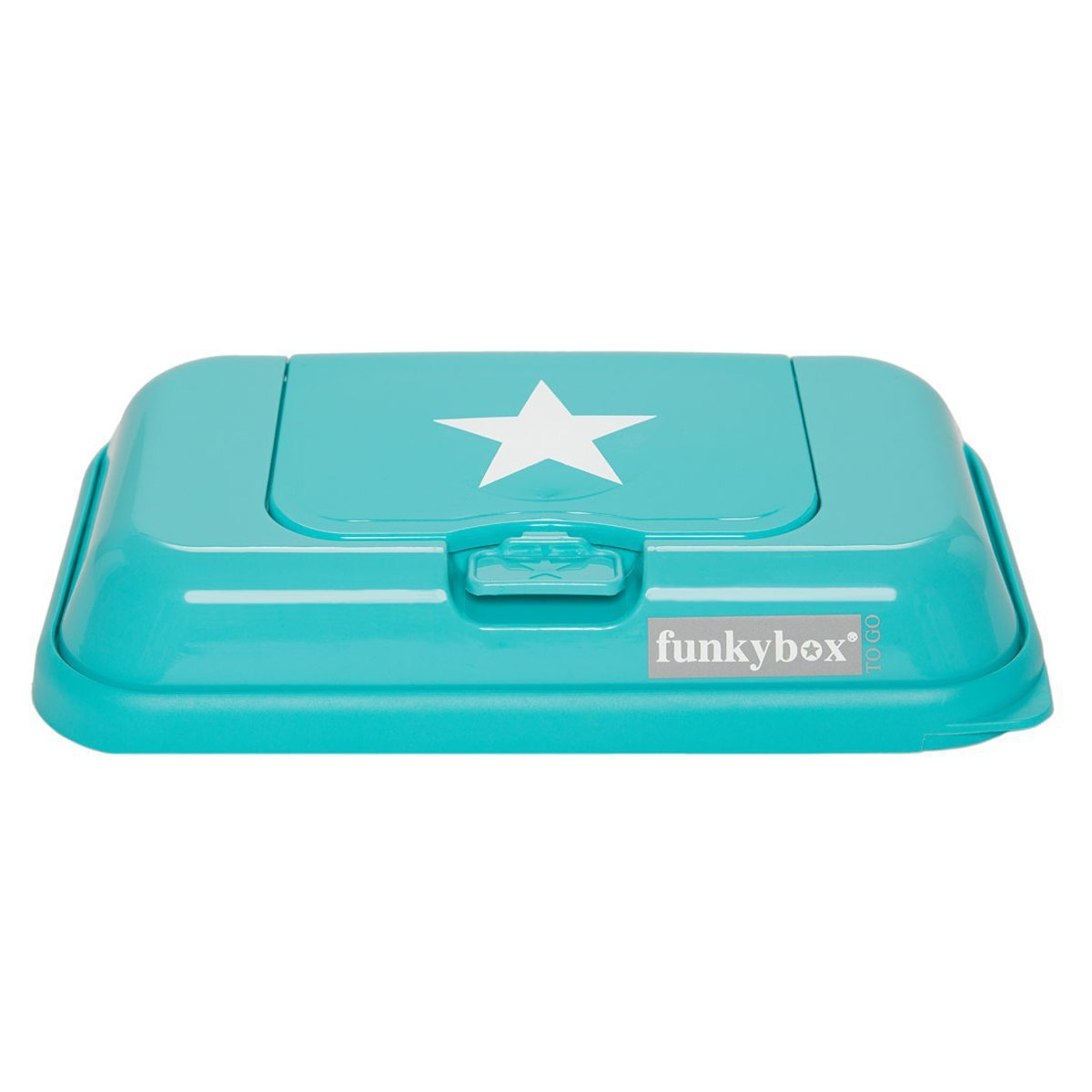 FunkyBox Nomad Polishing Cloth Funky Box to Go with Star Turquoise FBTG00