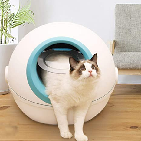 PYapron Caja de Arena para Gatos Jumbo con Cuchara para Arena para ...