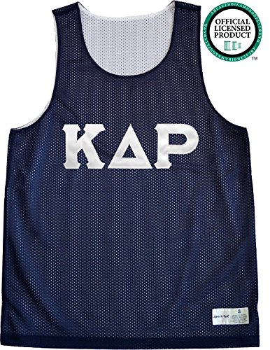 KAPPA DELTA RHO Unisex Mesh KDR Tank Top. White Sewn Letters, Various Colors