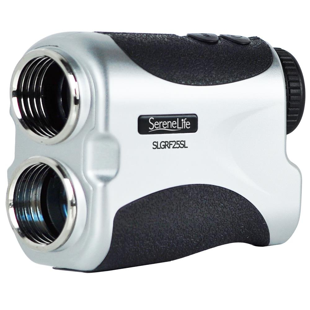 SereneLife Premium Slope Golf Laser Rangefinder with Pinsensor - Digital Golf Distance Meter - Compact Design -With Case by SereneLife (Image #1)