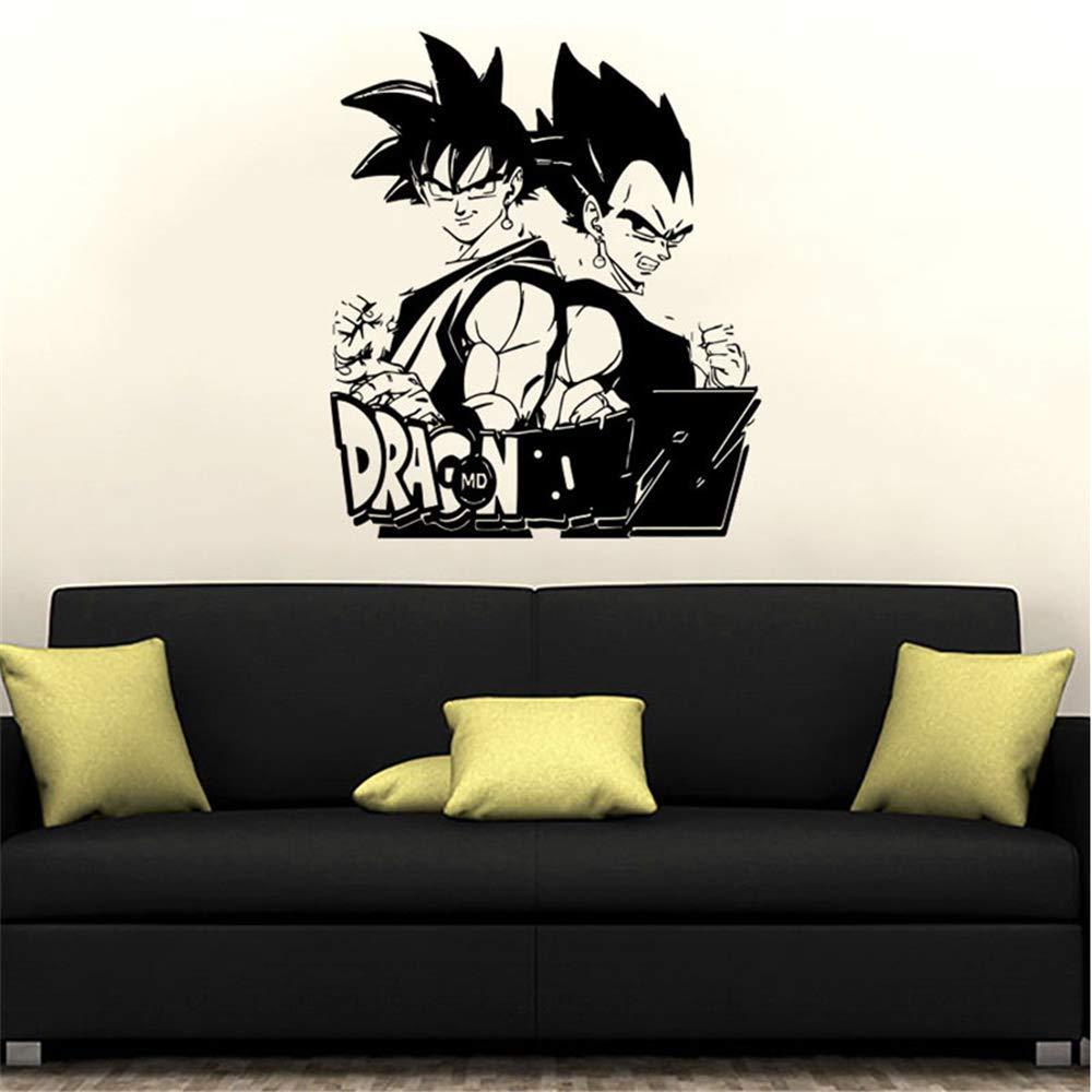Dragon Ball tatuajes de pared Dragon Ball Z Anime Goku postura de ...