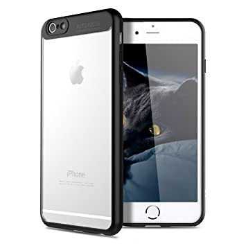 VemMore Funda iPhone 6 Plus Rígido, Carcasa iPhone 6s Plus Transparente Clear Ultra Fina Slim, 360 Grados Protección Antigolpes Anti-Rasguño ...